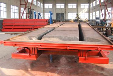 预应力混凝土双T板钢模板