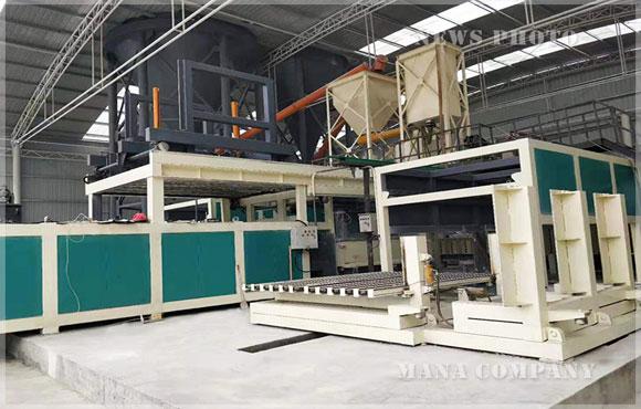 四川M30石膏墙板生产线