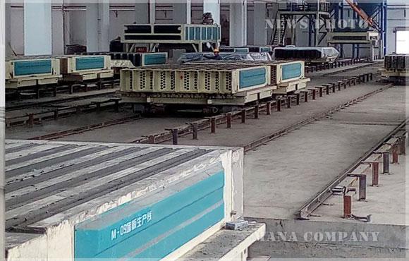 西藏M03发泡水泥墙板生产线