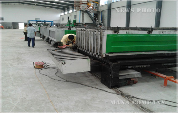 山东M08复合墙板生产线