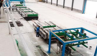 复合夹芯墙板生产线